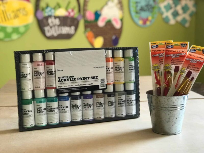 Paint and Supplies