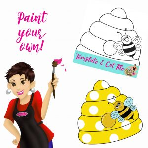 Beehive Paint Your Own