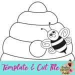Beehive Template and Cut File