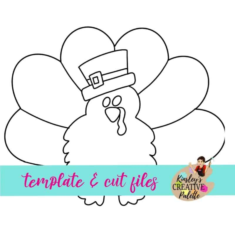 Turkey Door Hanger Template
