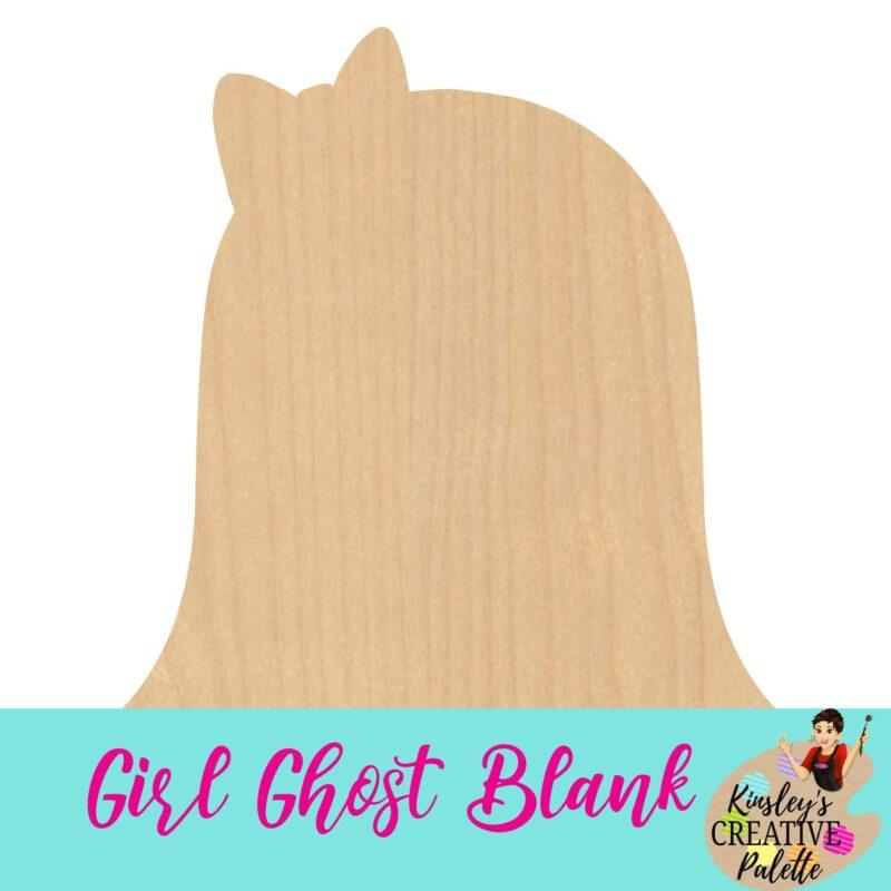 Girl Ghost Blank
