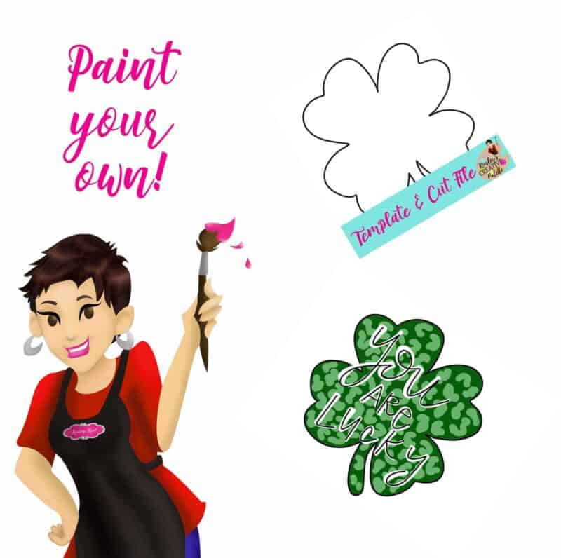 Shamrock Paint your own