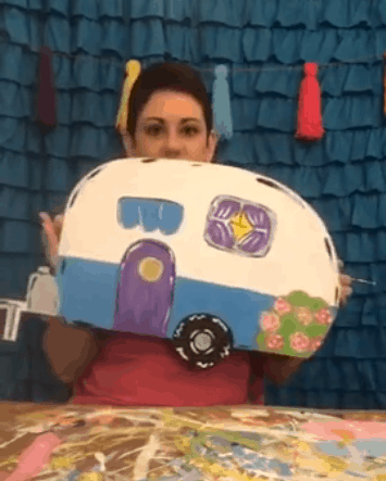 Paint a camper