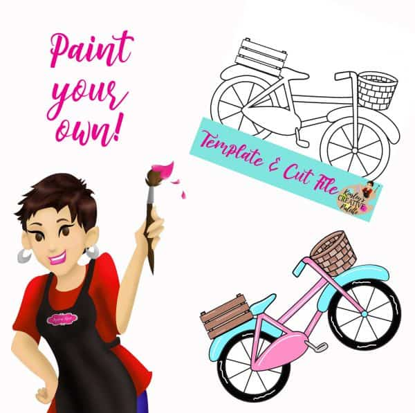 Bike Paint your own