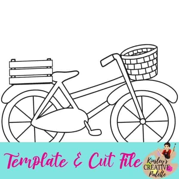 Bike Template and Cut File
