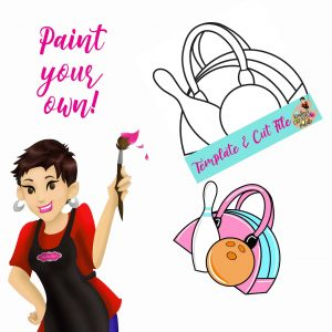 Bowling Bag Paint your own
