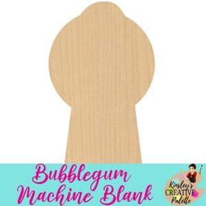 Bubblegum machine blank