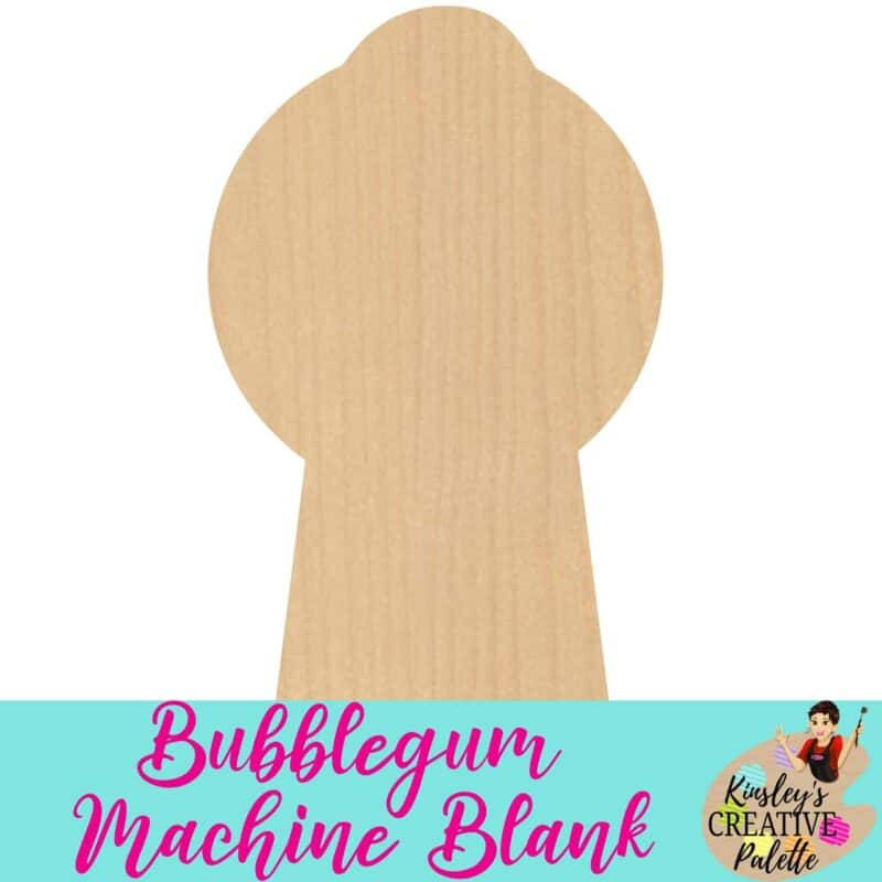 Bubblegum machine blank