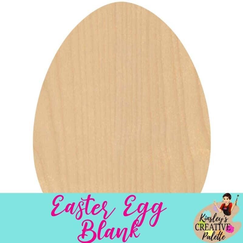 Easter Egg Blank