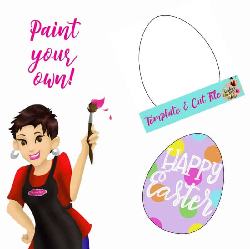 Easter Egg Paint your own