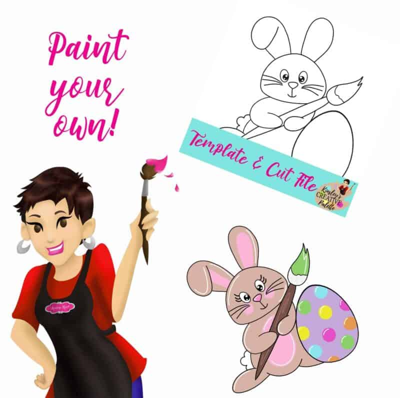 Painting Bunny Paint your own