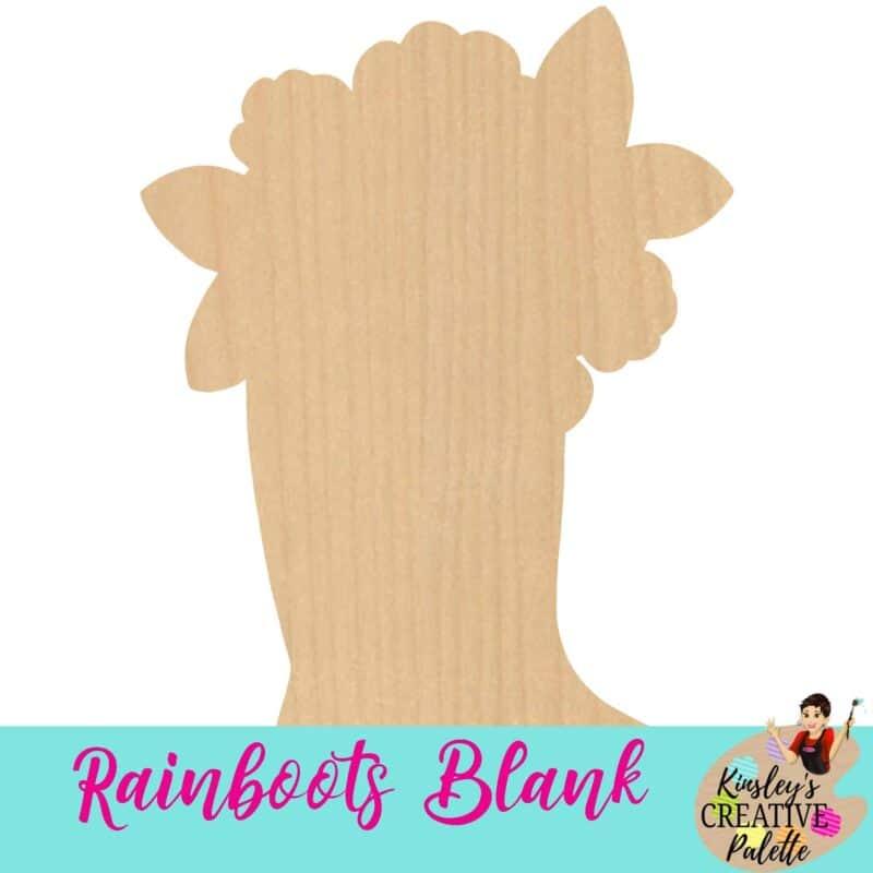 Rain Boots Blank