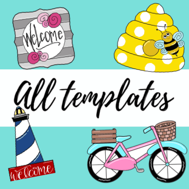All Wooden Door Hanger Templates