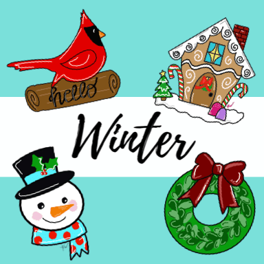 Winter templates