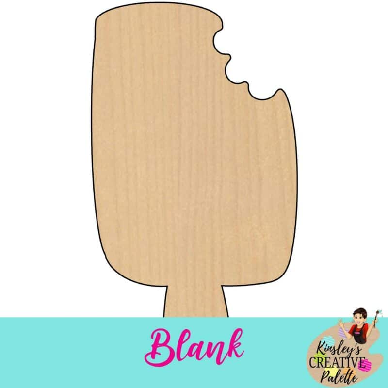 Popsicle Door Hanger Template