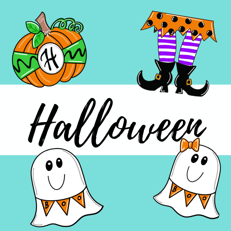 Halloween Blanks