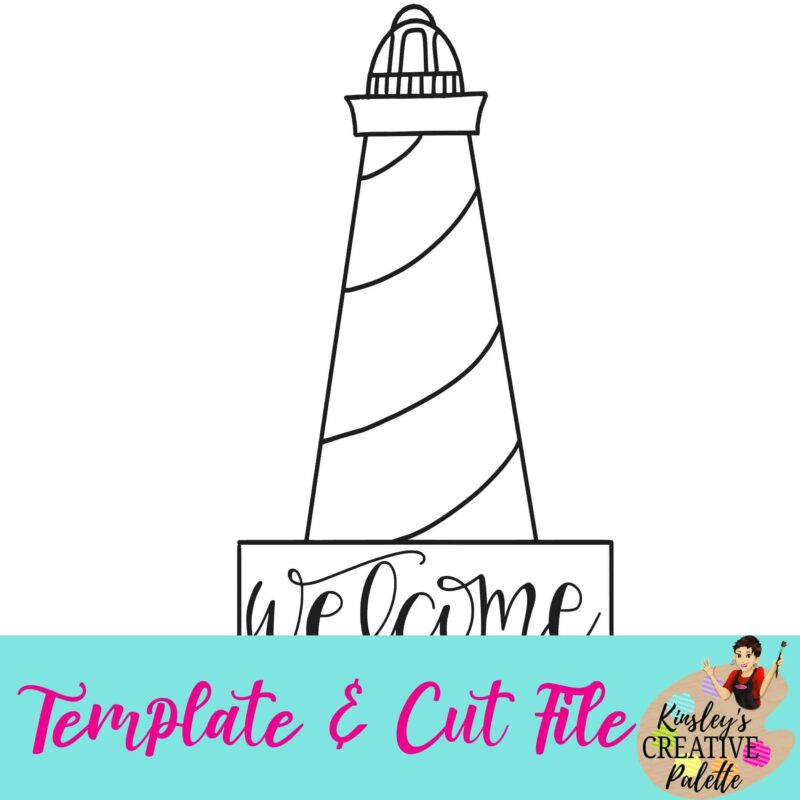 Lighthouse Template and cut file