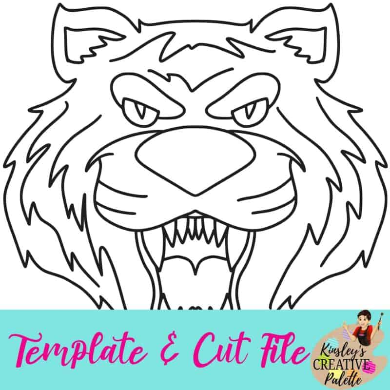 Tiger Template and Cut File