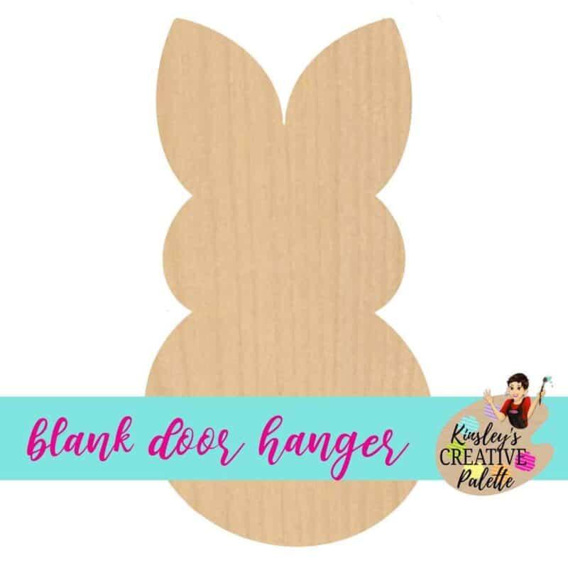 peep bunny blank