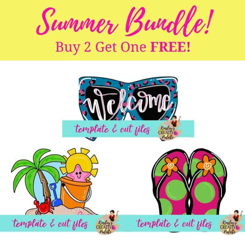 Summer Template Bundle