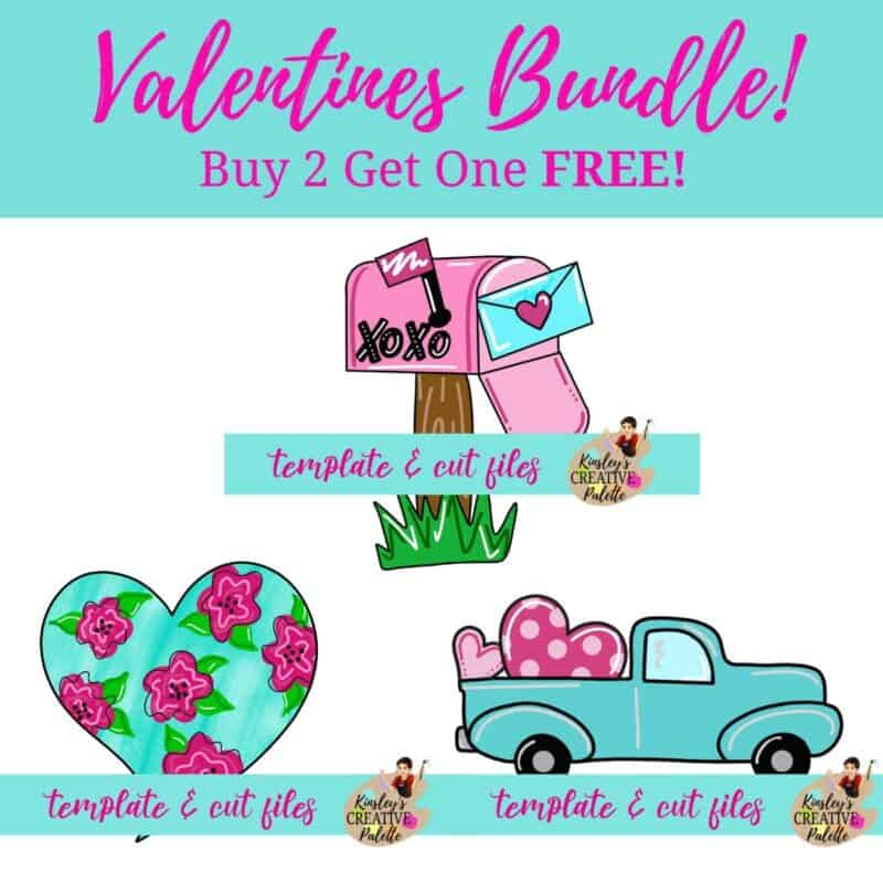 Valentines Template Bundle