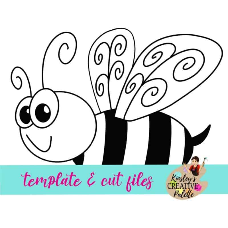 Bee Door Hanger Template