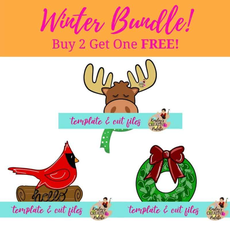 Winter Template Bundle