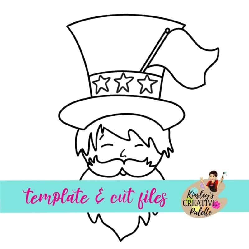 Uncle Sam Door Hanger Template