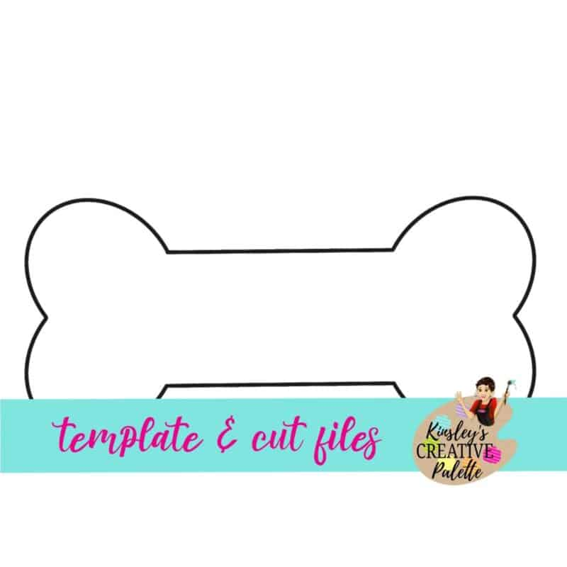 Dog Bone Door Hanger Template