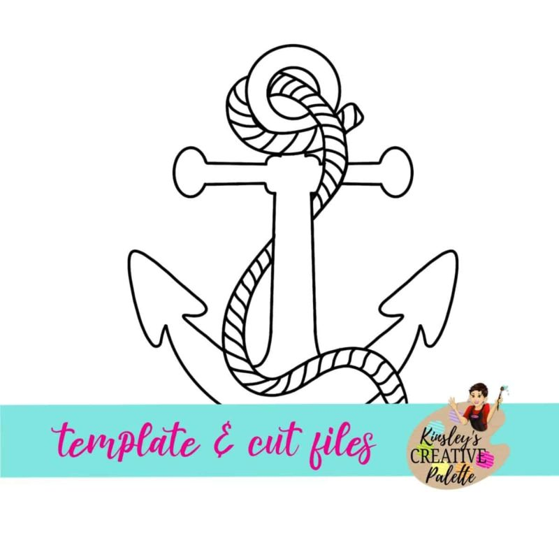 Anchor Door Hanger Template Downloadable