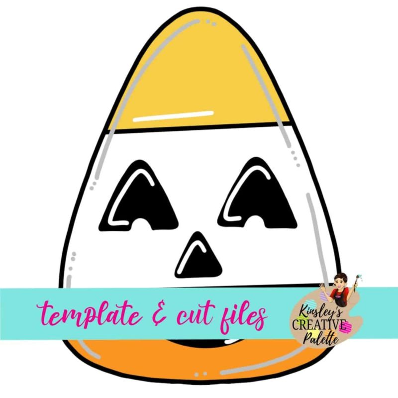 Candy Corn Door Hanger Template