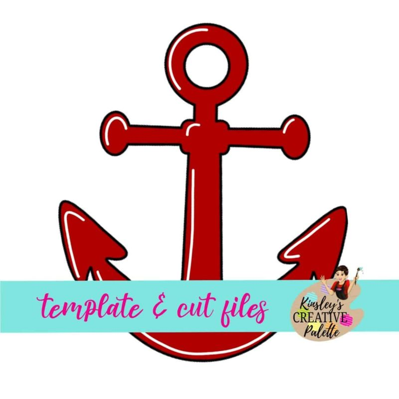 Anchor Door Hanger Template