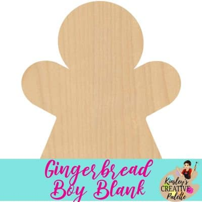 Gingerbread Boy Door Hanger Template